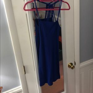 amazing electric blue party dress